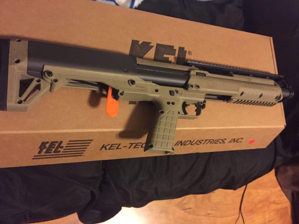 new kel tec shotgun